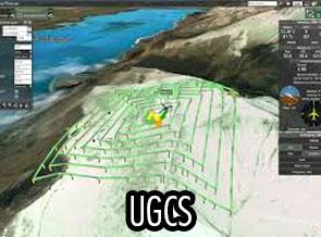 UgCS, WebODM, QGIS