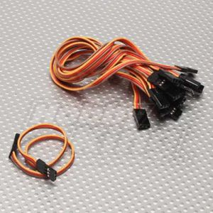 20cm Male to Male Servo Lead (JR) 26AWG (10pcs/set)