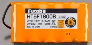 Futaba NT5F 1800B NiMh Transmitter Battery for 4PK/10J/6J/8J/24SG