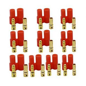 HXT 3.5mm Gold Connector w/Protector (10pcs/set)