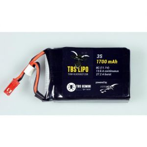 TBS GEMINI 1700mAh 3S 8C LIPO BATTERY