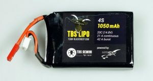TBS GEMINI 1000mAh 4S 20C LIPO BATTERY