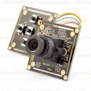 1200TVL Sony 1.3 Mega CMOS Sensor Board Camera 2.8mm Lens OSD DC5V