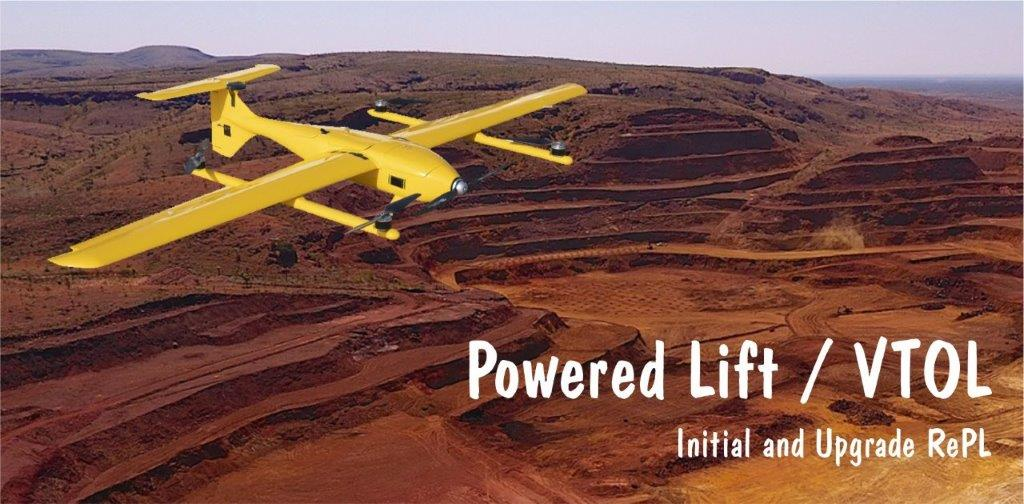 Powered Lift VTOL RePL Upgrades