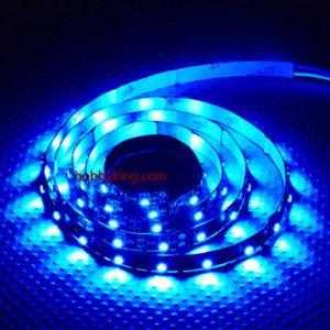 High Density R/C LED Flexible Strip-Blue (1mtr)
