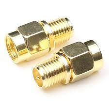 RP-SMA Male to SMA Female Coaxil Straight Adapter