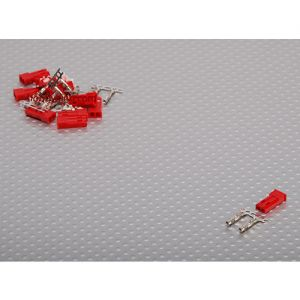 JST Male 2pin Connector Set (10pcs)