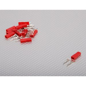 JST Female 2pin Connector Set (10pcs)