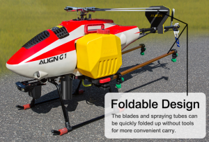 Align G1 Agricultural Spraying Helicopter