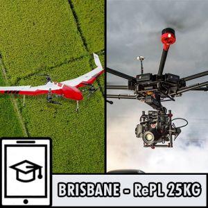 Brisbane - RePL Multi Rotor Sub 25kg Online, Sub 7kg Aeroplane, Sub 7kg Powered Lift