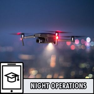 Multi Rotor Night Operation Training, sub 7kg