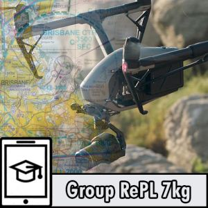 Time Based RePL MR Drone Licence Sub 7kg with AROC, ELP