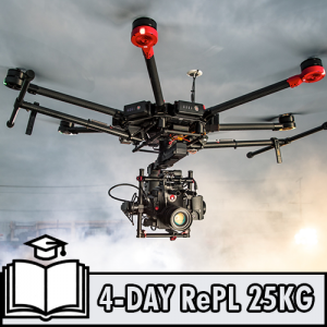 RePL Multi Rotor Sub 25kg 4 day class with AROC, ELP