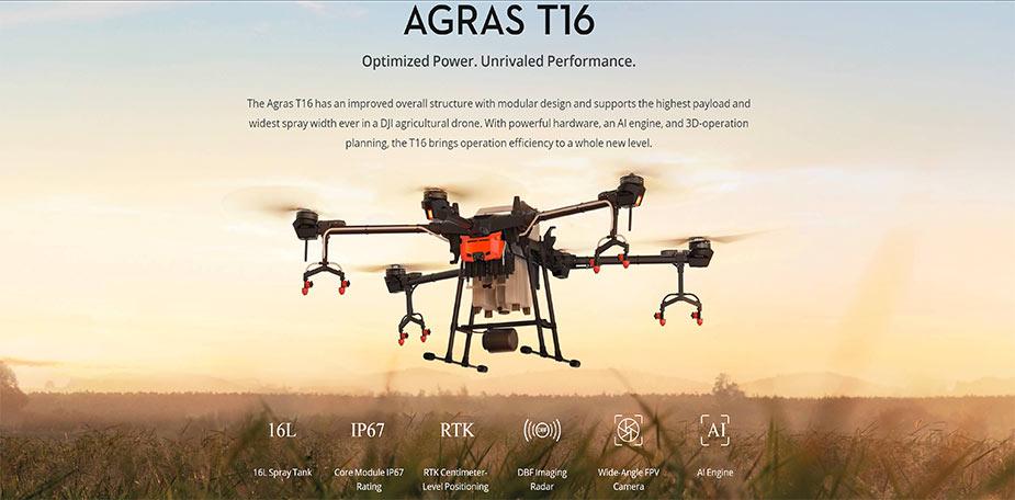 DJI AGRAS T16