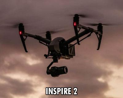 DJI Inspire 2 with X7 camera