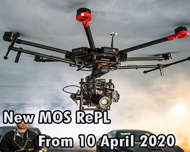 New Drone Licence